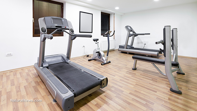 Home-Gym-Treadmill-Fitness